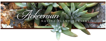 Ackerman Native Plant Nursery Banner